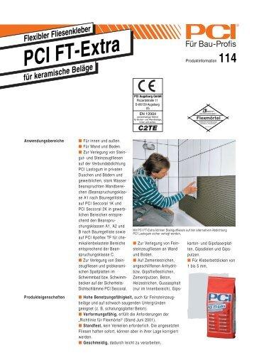 PCI FT-Extra - Fliesen Lerche