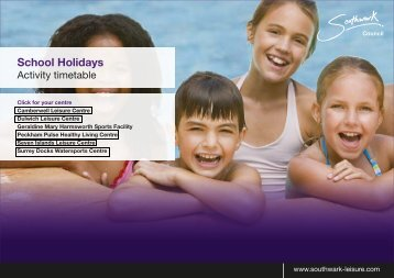 Easter holiday programme - Fusion Lifestyle