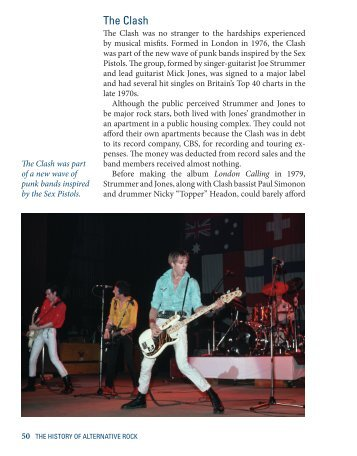 The Music Library: The History of Alternative Rock - Gale