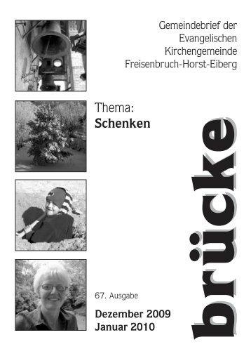 Februar März 2007 - Evangelische Kirchengemeinde Freisenbruch ...