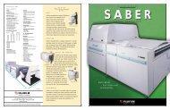 Saber Multi-Beam Platesetter - Fujifilm USA