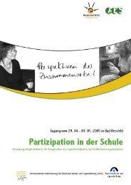 3.6 Kooperation für Partizipation