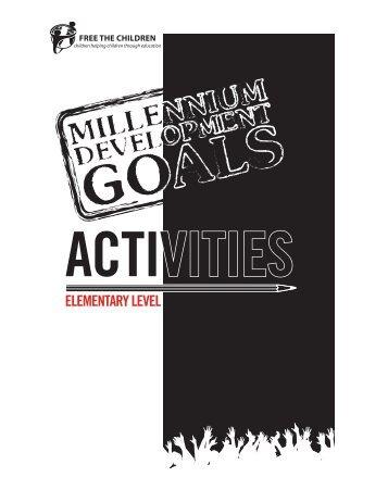 ACTIVITIES - Free The Children