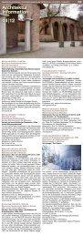 04 2012 Architektur Information - Fakultät für Architektur