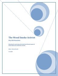 The Wood Smoke Activist - Nordic Folkecenter for Renewable Energy