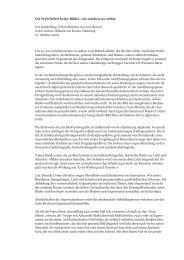 Rede Faktur×Offenheit Gerd Fleischmann 16. Oktober 2009