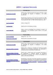 Relatório Parcial II_Anexo I_Legislação Analisada - Escola ...