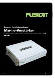 Marine-Verstärker - Fusion