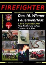 Firefighter 1-2002 Kern - Online-Magazin der Wiener Berufsfeuerwehr