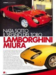 Lamborghini Miura - fleming press