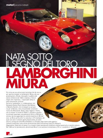 Lamborghini Miura - fleming press