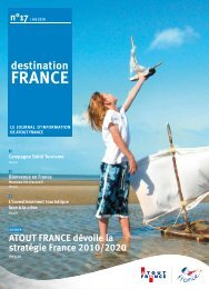 ATOUT FRANCE dévoile la stratégie France 2010/2020