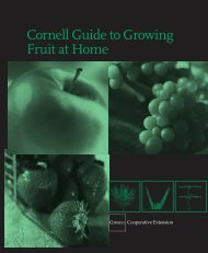 cover 2 - Cornell University: Gardening Resources