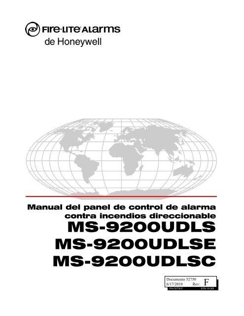 ms-9200udls ms-9200udlse ms-9200udlsc - Fire-Lite Alarms