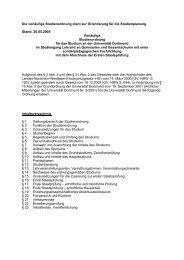 Studienordnung LPO 2003 - Gymnasien und Gesamtschulen