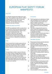EPSF Manifesto 2.qxd - Freizeit und Spiel