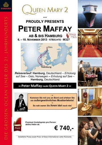 PETER MAFFAY - TUI ReiseCenter