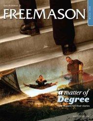 Winter 2008 (2.1MB) - Freemason.org