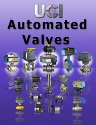 Automated Valves - Fluidraulics Inc