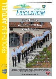 Gemeindeblatt - Friolzheim