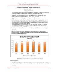 Vlaamse buitenlandse handel in 2010 - Flanders Investment & Trade