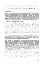 VI/2 Fehler- und Beanspruchungsbetrachtung bei der ... - FITR