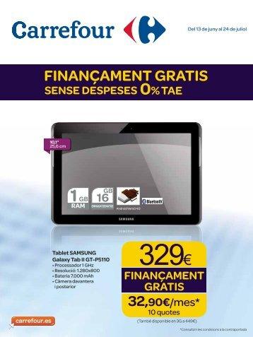 FINANÇAMENT GRATIS - Carrefour