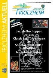 Blättle KW 10 - Friolzheim
