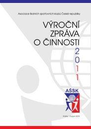 Výroční zpráva 2011 - Fakulta tělesné výchovy a sportu