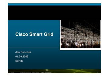 Cisco Smart Grid