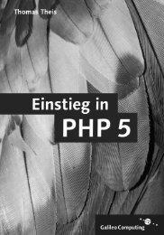 Einstieg in PHP 5 - Galileo Computing