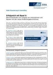Erfolgreich mit Basel II - forum! - Mainzer Marktforschungs