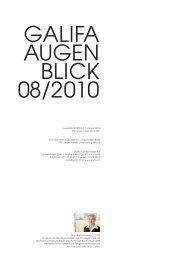 Galifa Newsletter August 2010.pdf - Galifa Contactlinsen AG