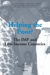 Helping the Poor? The IMF and Low-Income Countries - FONDAD ...