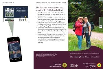 als Faltblatt herunterladen - Biosphärenreservat Vessertal-Thüringer ...