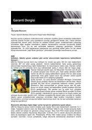 Temmuz 2009 Garanti Dergisi - Garanti Bankası