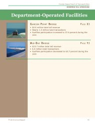 Department-Operated Facilities - Florida's Turnpike