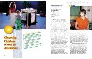 Observing Children: A Tool for Assessment 3 - Goodheart-Willcox