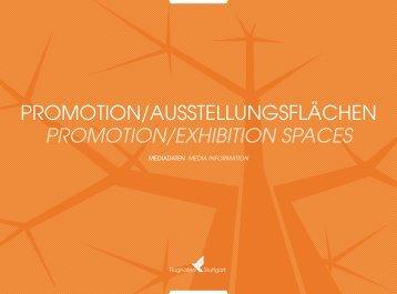 PRomotioN/AusstELLuNgsFLÄCHEN Promotion ... - Stuttgart