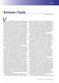Fysikaktuellt September 2003, Kvinnor i fysik - Svenska ... - Page 3