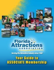 associate - Join the Florida Attractions Association!