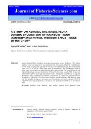 A STUDY ON AEROBIC BACTERIAL FLORA DURING INCUBATION ...