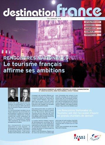 le tourisme français affirme ses ambitions - Maison de la France