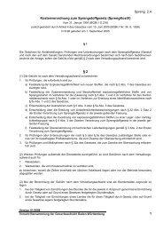 Kostenverordnung zum Sprengstoffgesetz - Gewerbeaufsicht ...