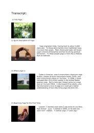 Quick Intro to Yoga: