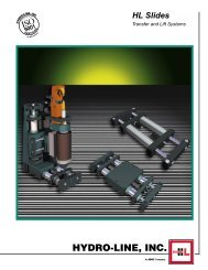 HL Slide transfer & lift systems - Vickers