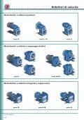 Riduttori di velocità e motori elettrici - Page 4