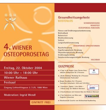 4.WIENER OSTEOPOROSETAG