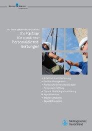 leistungen - Bilfinger Berger Industrial Services