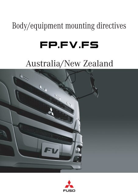 Body Builders Info FUSO HD EURO V FPFVFSNZ PART